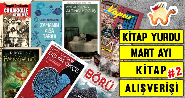 Kitap Alışverişi | Kitapyurdu Mart Ayı Alışverişi #2