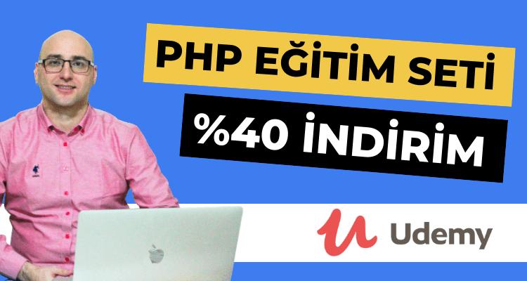 Udemy'de PHP Eğitim Seti Çıkarttım!